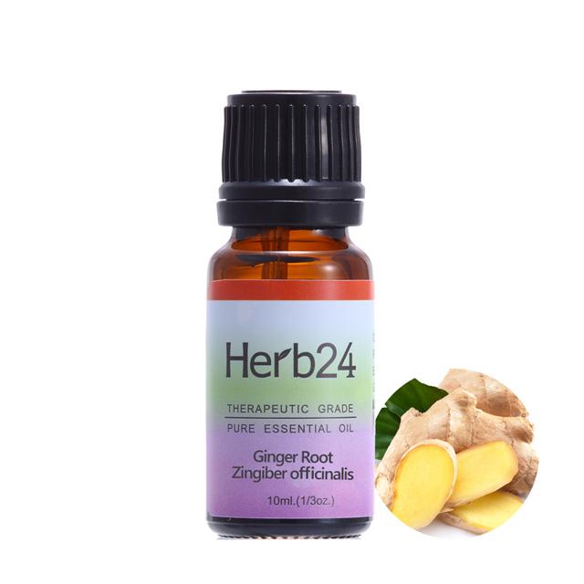 【草本24。Herb24】薑 純質精油 10ml