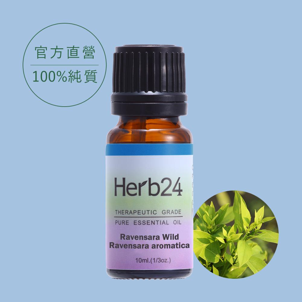 【草本24。Herb24】羅文沙葉 純質精油 10ml