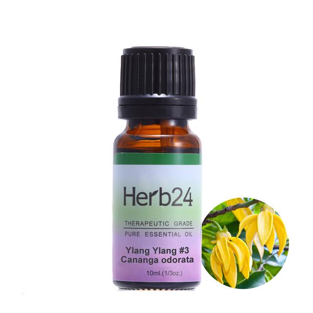 【草本24。Herb24】依蘭#3 純質精油 10ml