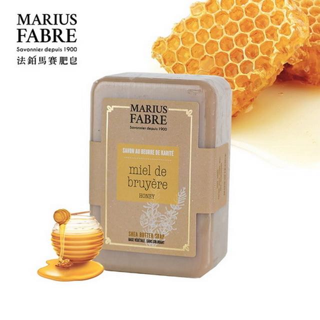 MARIUS FABRE 法鉑蜂蜜乳油木草本皂250g