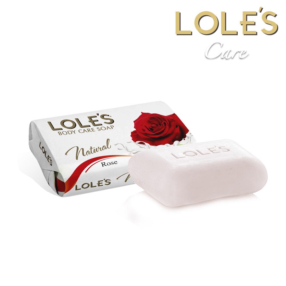 LOLES草本玫瑰護膚皂150g