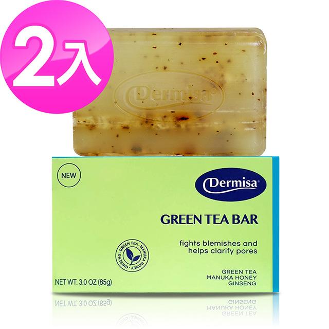 【美國 Dermisa 】綠茶淨膚皂 85g(2入)