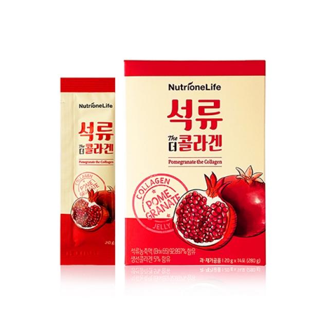 Nutrione 紅石榴膠原蛋白果凍 20gx14包
