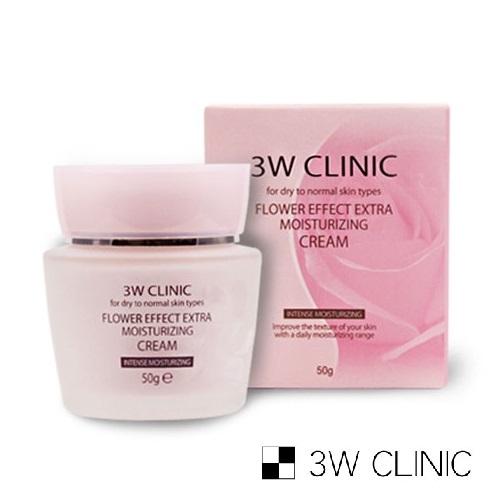 【韓國 3W CLINIC】極緻透光嫩白保濕精華霜 50g