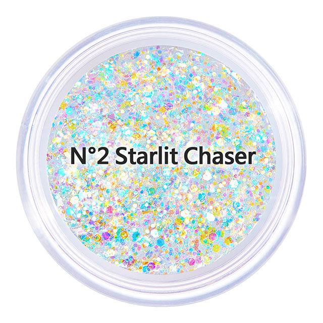 【韓國Unleashia】顏礫星涯-璀璨閃光凝膠眼影 MINI版4g N°2 Starlit Chaser