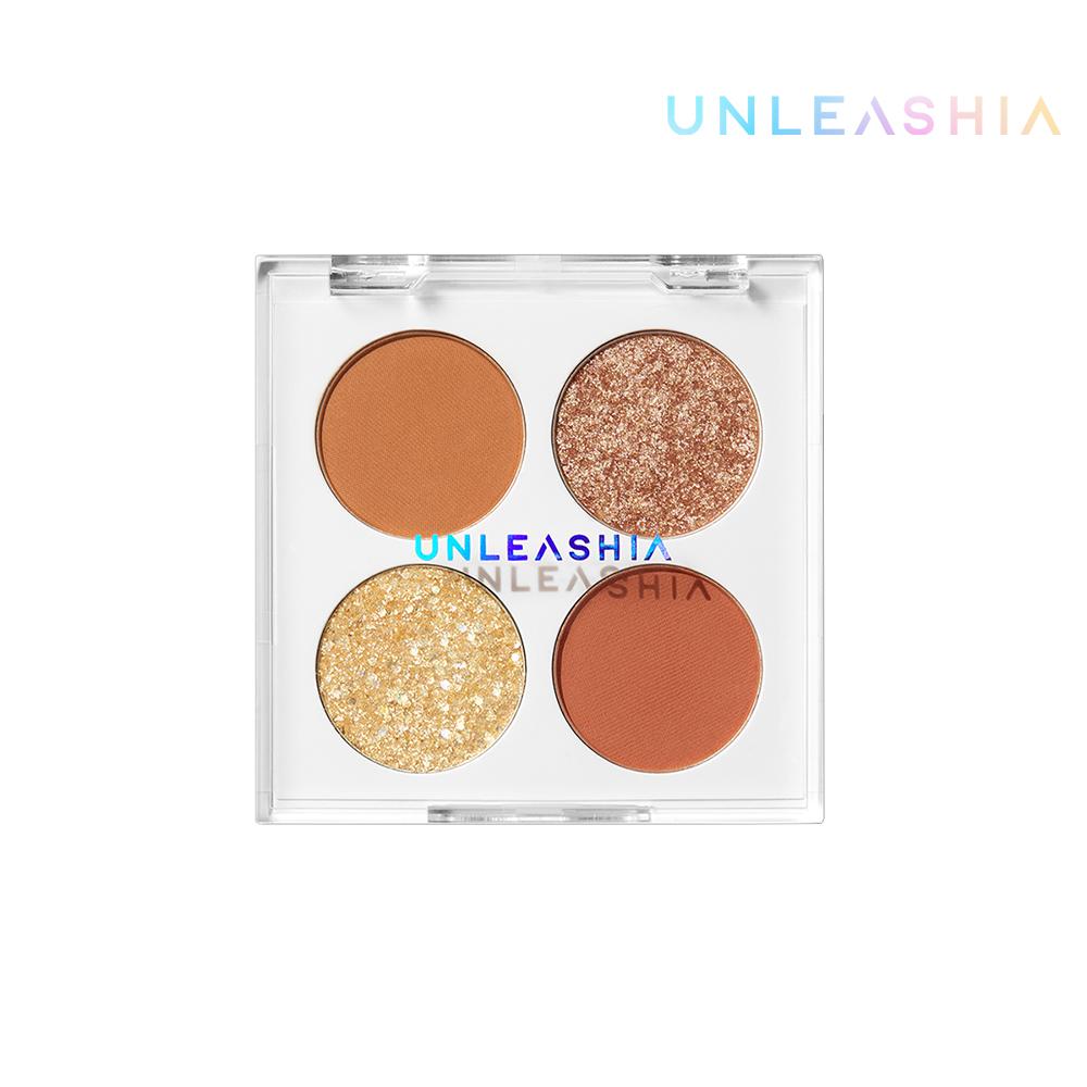 【韓國Unleashia】顏礫星涯-寶石多功能四宮格眼影盤6.2g N°2 Starry Dot