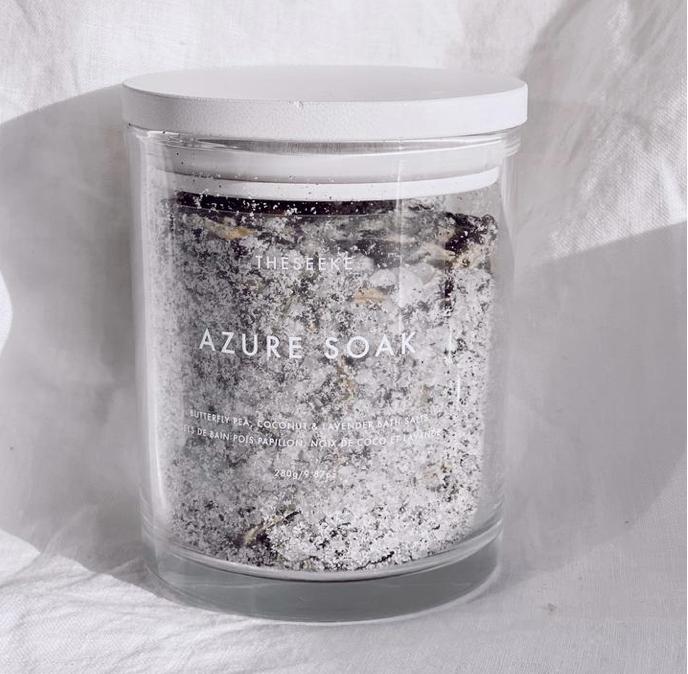 THESEEKE AZURE SOAK MILK BATH 藍寶石牛奶沐浴鹽/AZURE牛奶浸泡浴/沐浴鹽