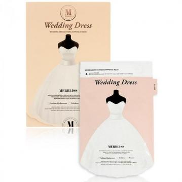 MERBLISS 婚紗安瓶補水面膜(5片/盒) #粉(保濕)