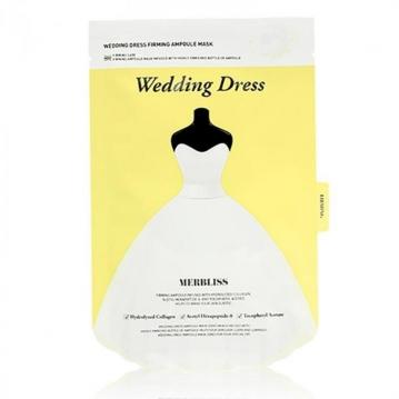 MERBLISS 婚紗安瓶補水面膜(單片) #黃(緊緻)