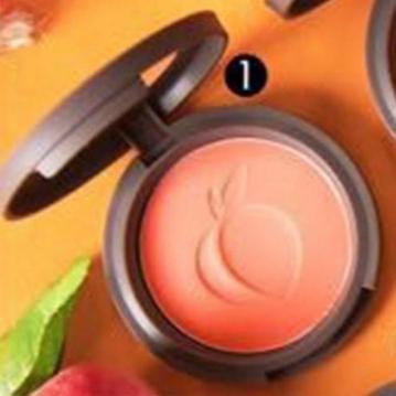SIVANNA HF-6017 蜜桃紅潤好氣色頰彩盤  1