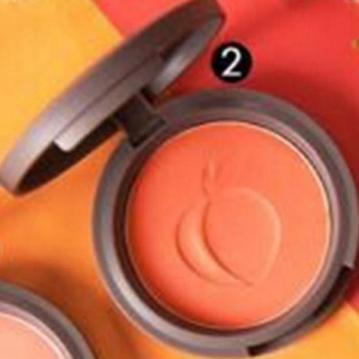 SIVANNA HF-6017 蜜桃紅潤好氣色頰彩盤  2