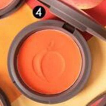 SIVANNA HF-6017 蜜桃紅潤好氣色頰彩盤  4