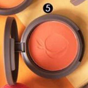 SIVANNA HF-6017 蜜桃紅潤好氣色頰彩盤  5