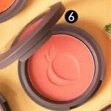SIVANNA HF-6017 蜜桃紅潤好氣色頰彩盤  6