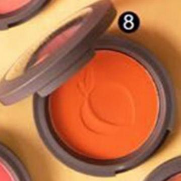 SIVANNA HF-6017 蜜桃紅潤好氣色頰彩盤  8