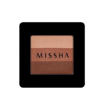 韓國 MISSHA 三色眼影 2g #.13 Lady Milk 奶茶夫人