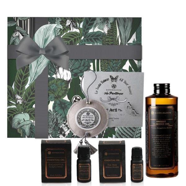 【Bath & Bloom】森呼吸純淨芳療禮盒組(限量販售)