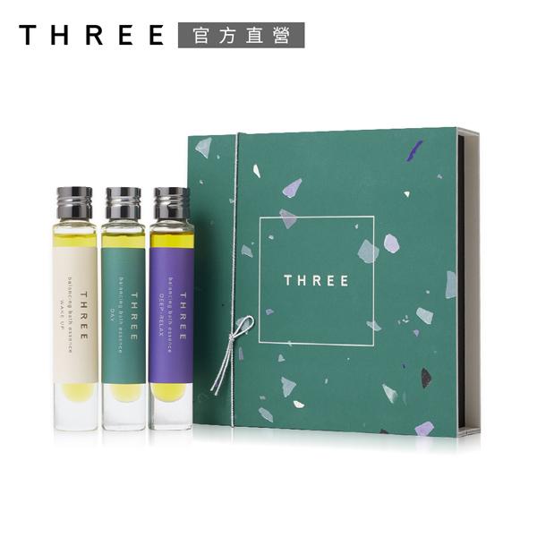 【THREE】平衡沐浴精華油(限定包裝)