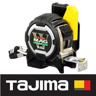 日本 田島Tajima W磁鐵捲尺 5.5x25mm/台尺 CWM3S2555S