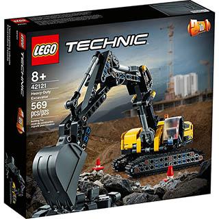 樂高積木 LEGO《 LT42121 》202103 科技 Technic 系列 - 重型挖土機