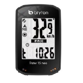 Bryton Rider 15 neo E GPS自行車智慧訓練記錄器
