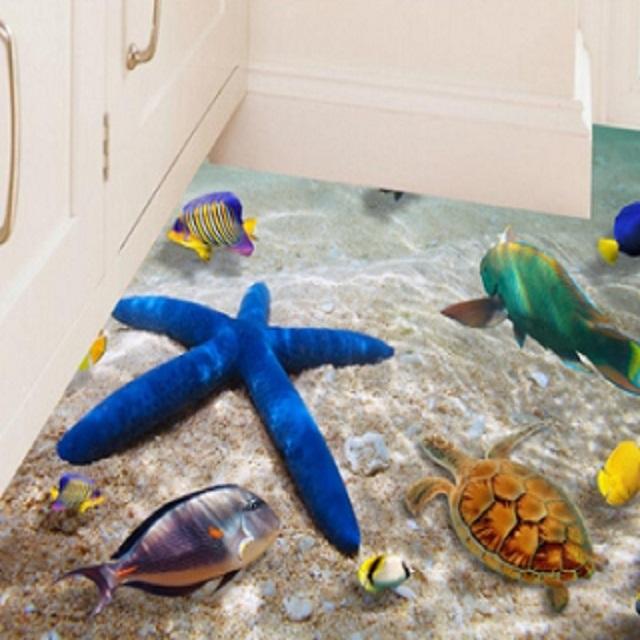 3D壁貼-海底世界