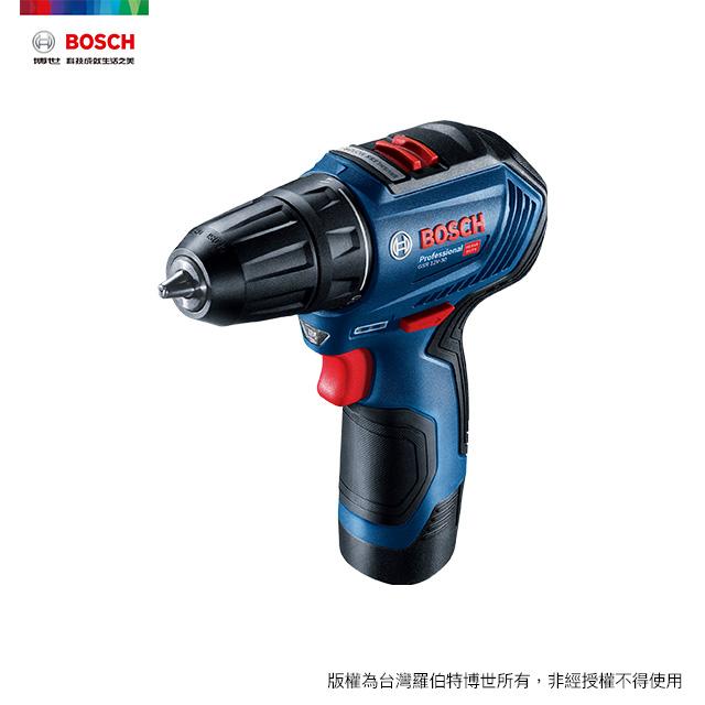 BOSCH 12V 鋰電免碳刷電鑽/起子機 GSR 12V-30