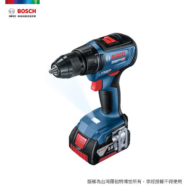 BOSCH 18V鋰電免碳刷四分電鑽/起子機 GSR 18V-50