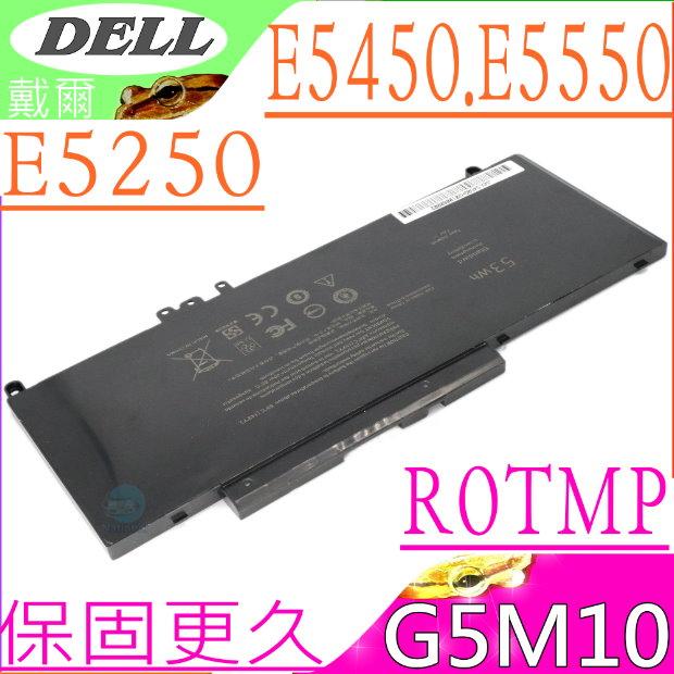 DELL 電池-戴爾 G5M10 E5250,E5450,E5550,R0TMP 8V5GX,WTG3T,R9X29,GKM4Y