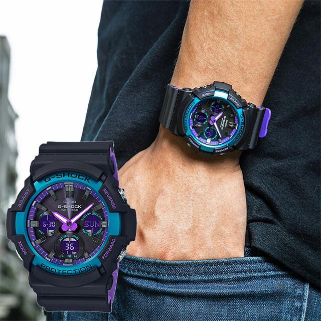 Casio G-Shock GAS 100BL 1A