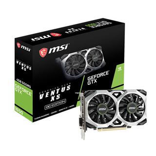 微星 GeForce GTX1650 VENTUS XS 4G OC 顯示卡