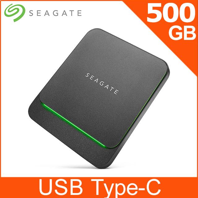 Seagate BarraCuda Fast 500GB 外接SSD(STJM500400)