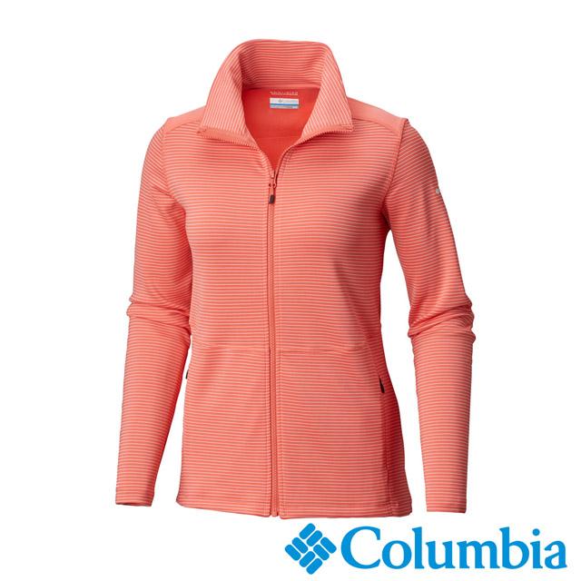 Columbia哥倫比亞-女款-防曬50快排外套-粉紅 UAK12080PK