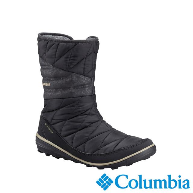 Columbia哥倫比亞 女款-OT防水保暖雪靴-黑色 UBL27540BK