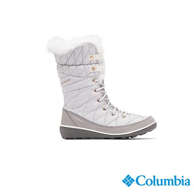 Columbia哥倫比亞 女款-OT防水保暖雪靴-灰色 UBL16610GY