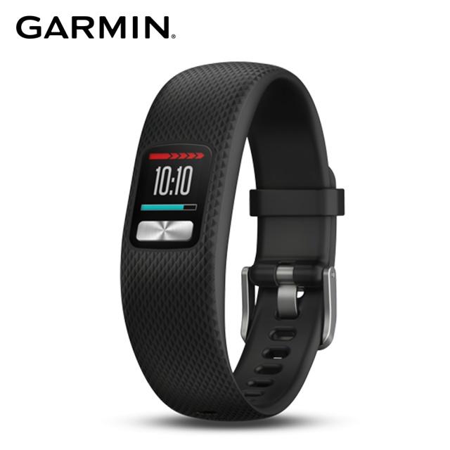 GARMIN Vivofit 4 智慧手環-黑(大)