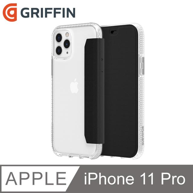 Griffin Survivor Clear Wallet iPhone 11 Pro 透明背套防摔側翻皮套