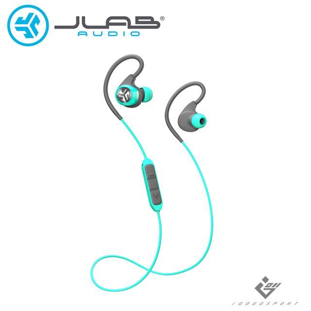 JLab Epic 2 藍牙運動耳機-青色