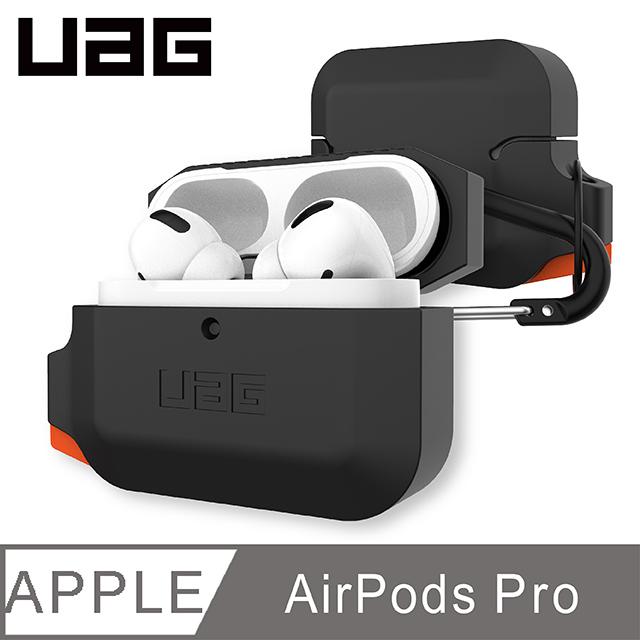 UAG AirPods Pro 耐衝擊防水防塵保護殼-黑