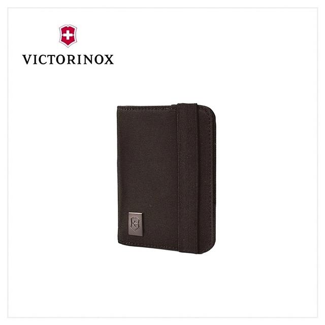 VICTORINOX 瑞士維氏 護照夾/黑 31172201