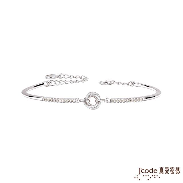 Jcode真愛密碼 三生三世純銀手環