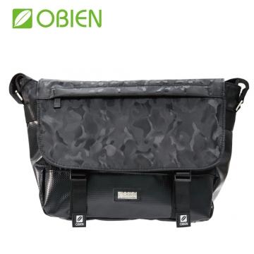 Obien 歐品漾 都會型 萬用迷彩 小郵差包 【迷彩黑】