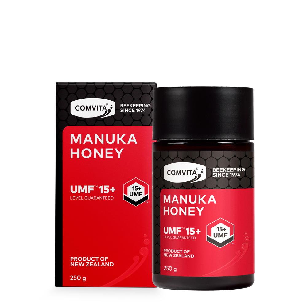 【紐西蘭 Comvita康維他】UMF15+麥蘆卡蜂蜜250g