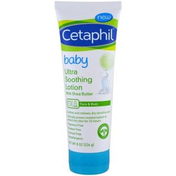 Cetaphil Baby 嬰兒超舒緩長效保濕乳液 (無香 乳木果) 8oz / 226g