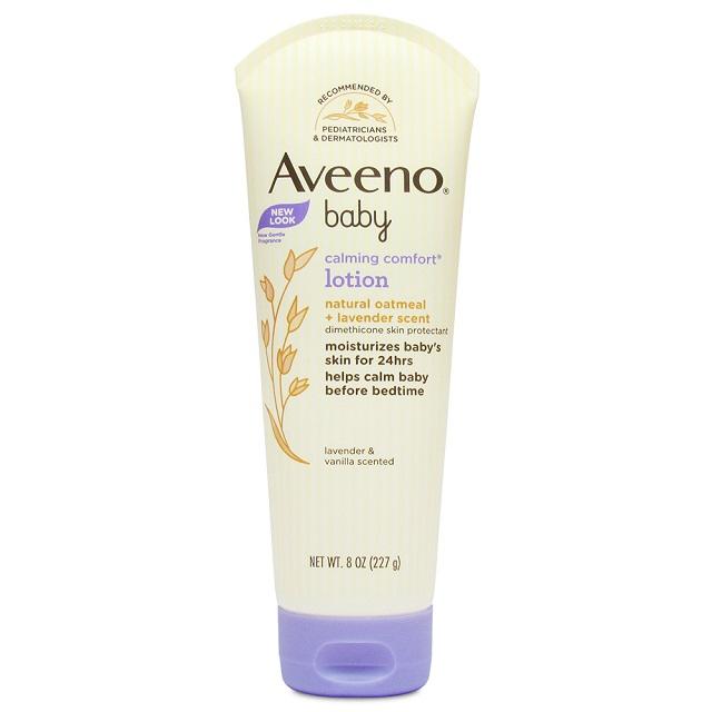Aveeno 寶寶燕麥舒緩放鬆乳液 (薰衣草&香草) 8oz(227g)