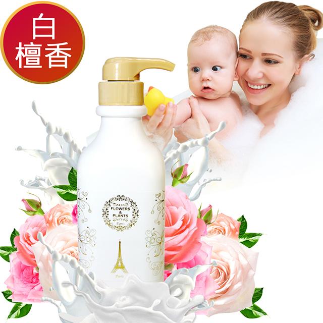 【愛戀花草】山羊奶-白檀香回春滋潤沐浴乳 1000ML