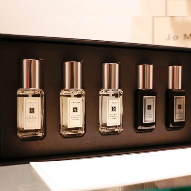 Jo MALONE 黑、白瓶5入香水新版禮盒