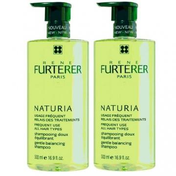 RENE FURTERER Naturia蒔蘿均衡髮浴家庭組(500ml*2)