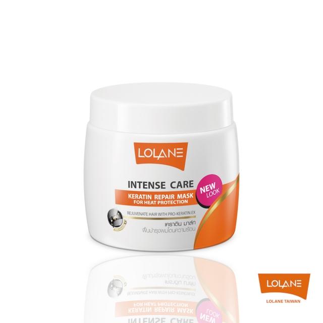 LOLANE 高效修護角蛋白髮膜-毛燥受損及抗熱塑型 200g